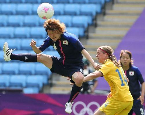 7月28日 <女子>1次リーグ第2戦 日本-スウェーデン