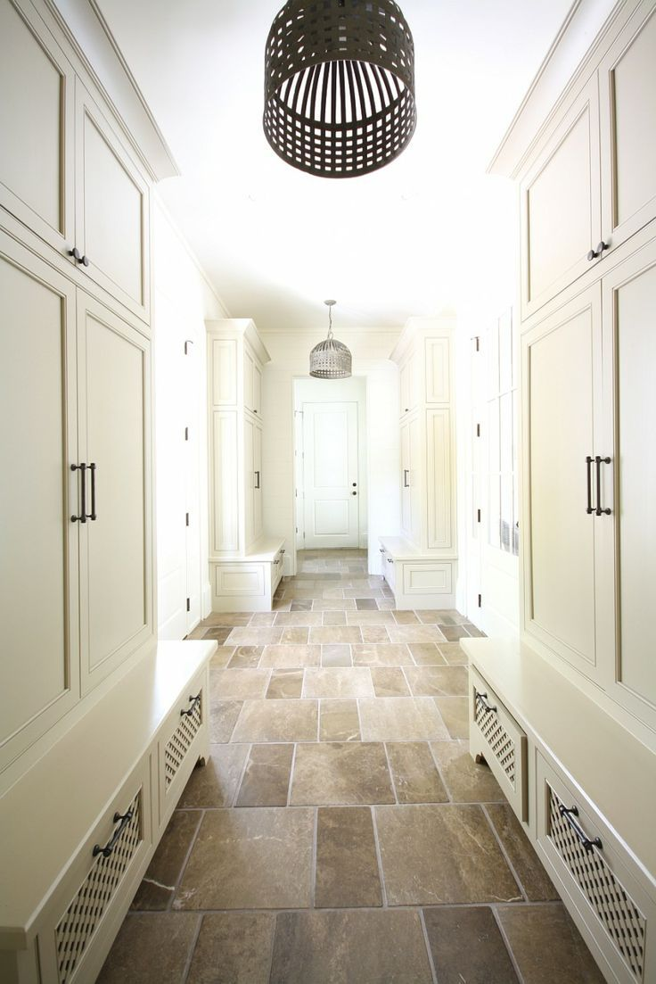 16 best flooring samples tile and wood grained tile images on castro design studio mud room built in lockers painted ivory iron lanterns and stone tiles floor love the floors dailygadgetfo Images