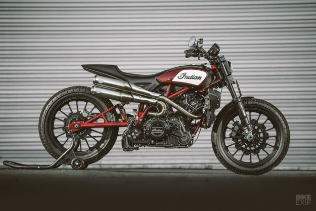 Exclusive This Is The Indian Scout FTR1200 Custom
