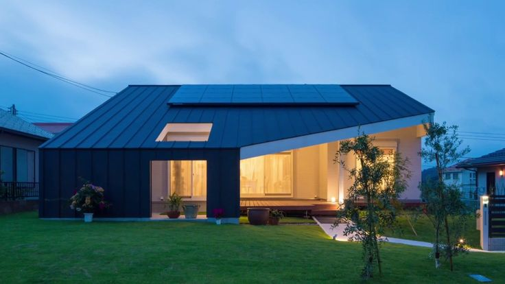 Дома Японии архитектура интерьер