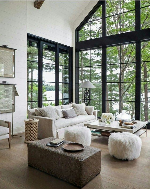 43 Excellent 38 Beautiful Lake House Decorating Ideas Modern Lake House Di 2020