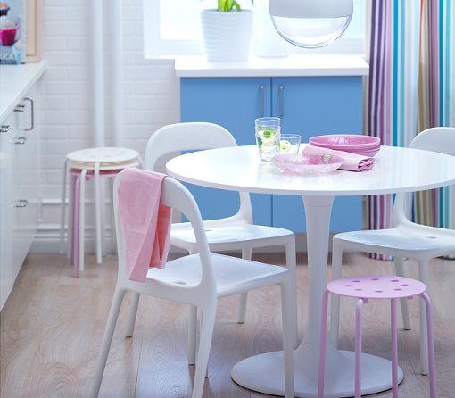 Mesa redonda ikea ikea pinterest mesas y ikea - Ikea mesas cocina redondas extensibles ...