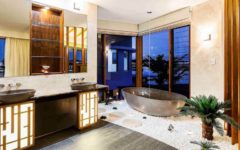 10 Smashing Tropical Bathroom Design Ideas to Keep In Mind ➤To see more Luxury Bathroom ideas visit us at www.luxurybathrooms.eu #luxurybathrooms #homedecorideas #bathroomideas @BathroomsLuxury