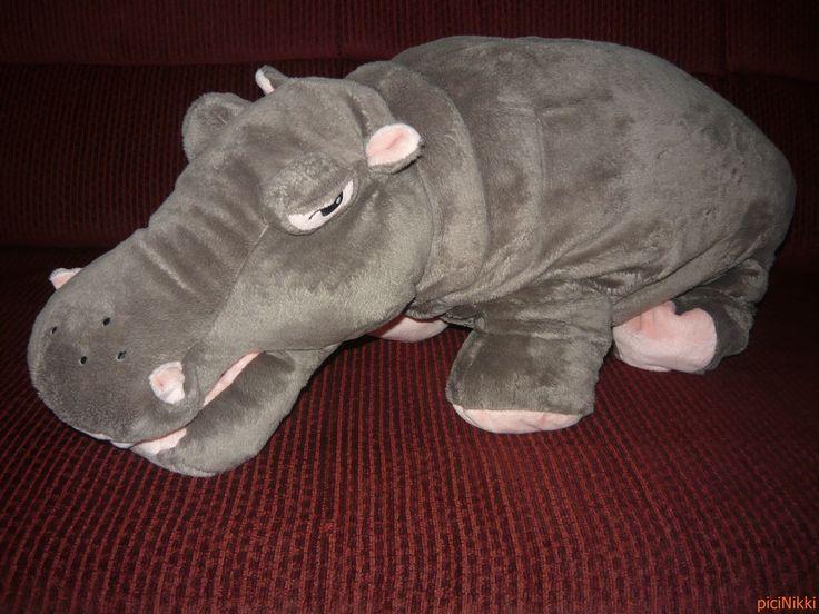No. 33 | víziló | hippo | plüss | plush | Ikea