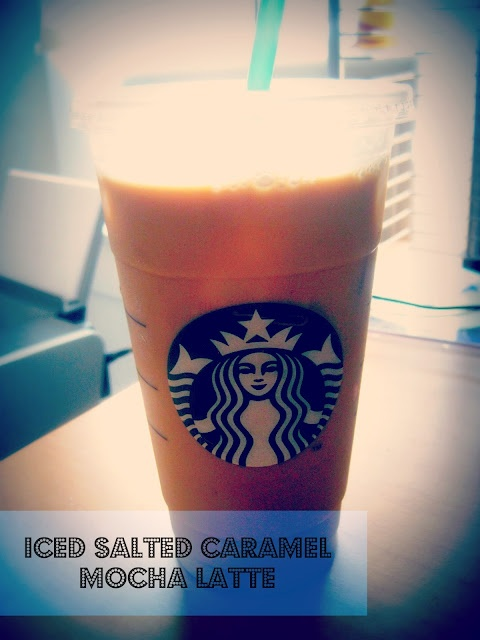 Salted Caramel Mocha Latte...use almost calorie free caramel syrup recipe and this baby is added sugar-free.