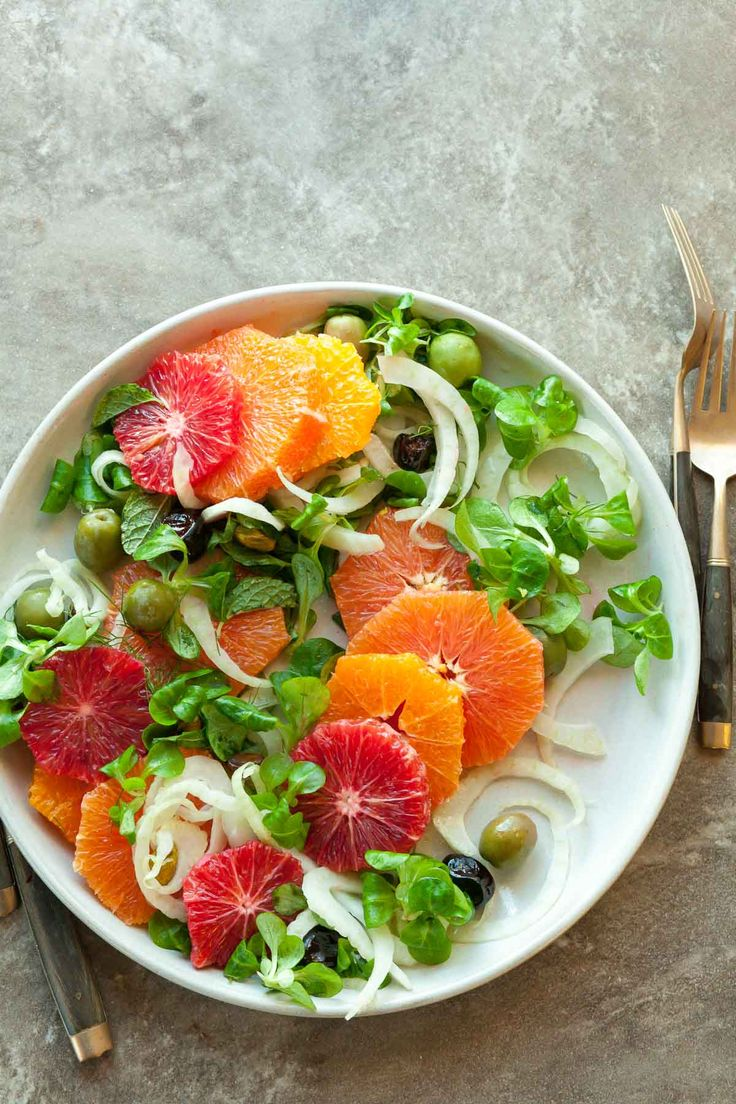 Orange, Olive and Fennel Salad Recipe