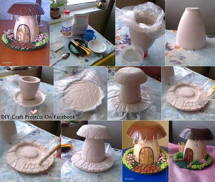 Gnome or fairy house