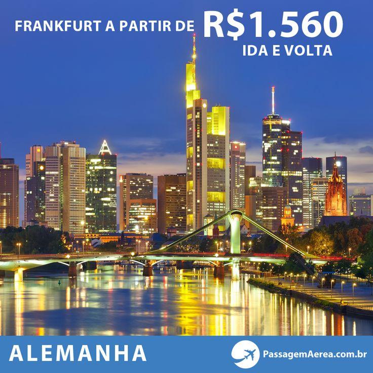Oportunidade para viajar para Alemanha com saídas de todo o Brasil.  Veja datas no site: http://www.passagemaerea.com.br/frankfurt-2014.html  #alemanha #passagemaerea
