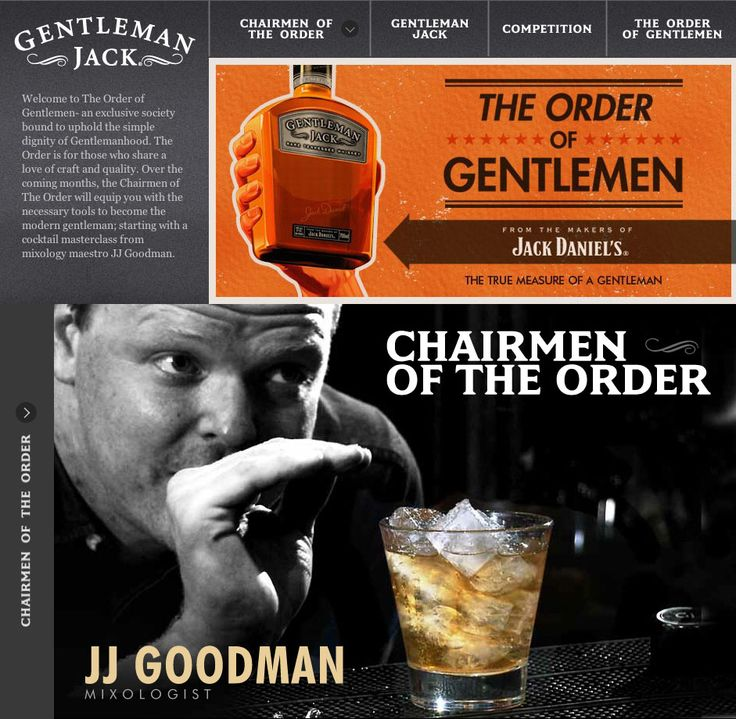 The Order of Gentlemen suavely mixes cocktails and a competition to win a masterclass. Featured on Shortlist.com
