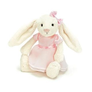 NEW ARRIVALS Bella Bunny Ballerina A favourite for Easter or anytime the pretty Bella Bunny Ballerina is the picture of bunny style, with her fluffy fur and very sweet pink ballerina outfit.  She will be a favourite! Dimensions: 23cm $32.95 #sweetcreations #bunny #kids #toys