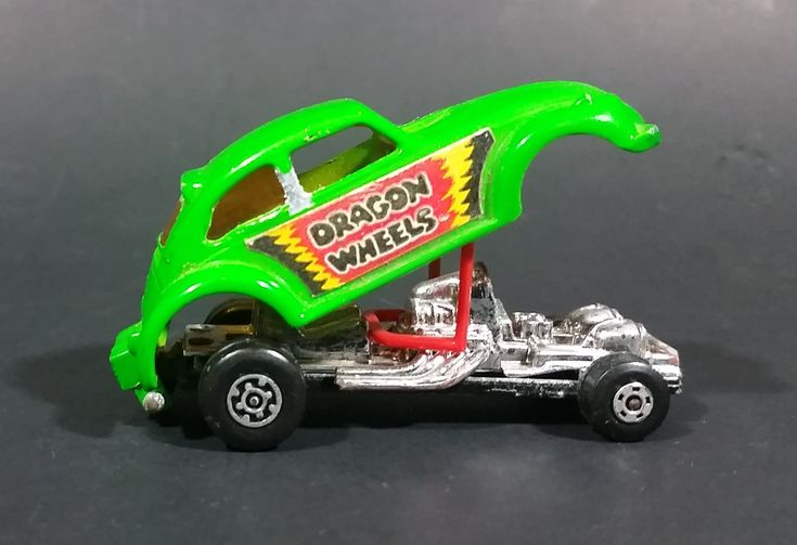 1972 Lesney Products Matchbox Lime Green Dragon Wheels No. 43 VW Volkswagen Dragster https://treasurevalleyantiques.com/products/1972-lesney-products-matchbox-lime-green-dragon-wheels-no-43-vw-volkswagen-dragster #Vintage #1970s #70s #Seventies #Lesney #LesneyProducts #Matchbox #LimeGreen #DragonWheels #Dragster #VW #Volkswagen #ToyCars #Toys #Cars #Collectibles #DieCast #Unique