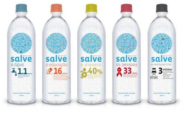 Salve Water by À La Carte Design interesting #water #packaging PD