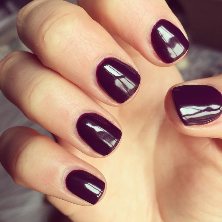 'Honk If You Love OPI' - a gorgeous deep plum colour by OPI GelColor