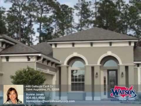 Homes for Sale - 448 Gallardo Cir # Cr Saint Augustine FL 32086 - Bonne Jones - http://jacksonvilleflrealestate.co/jax/homes-for-sale-448-gallardo-cir-cr-saint-augustine-fl-32086-bonne-jones/