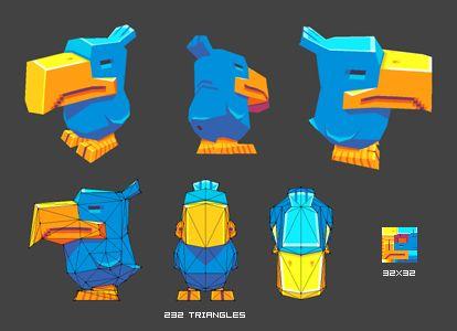 pixel art 3d models