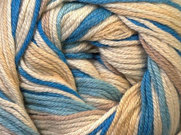 Tropical Color Blanc Chameau Nuances de bleus