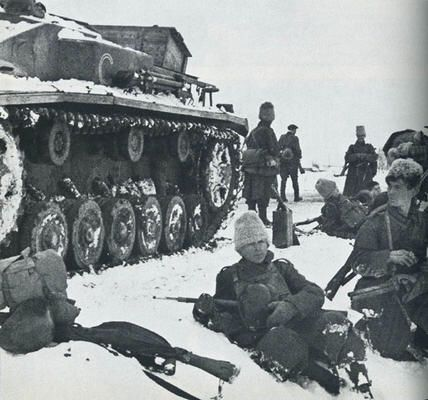Romanian soldiers in Stalingrad