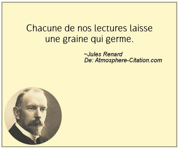Citation de Jules Renard - Proverbes Populaires