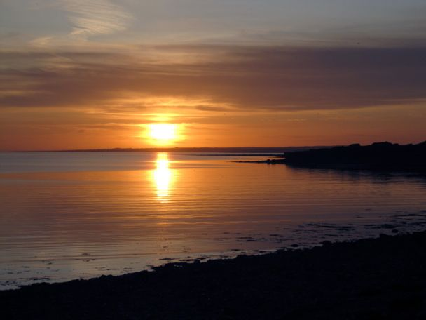 Sunset at renville, Oranmore, Ireland More photos at http://www.anotherphoenix.com
