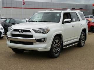 2016 Toyota 4Runner Limited SUV in Blizzard Pearl! Gray-Daniels Toyota | Vehicles for sale in Brandon, MS 39042
