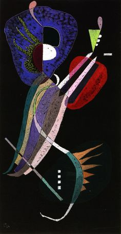 Wassily Kandinsky, Resolution. See the Virtual Artist gallery: www.theartistobjective.com/gallery/index.html