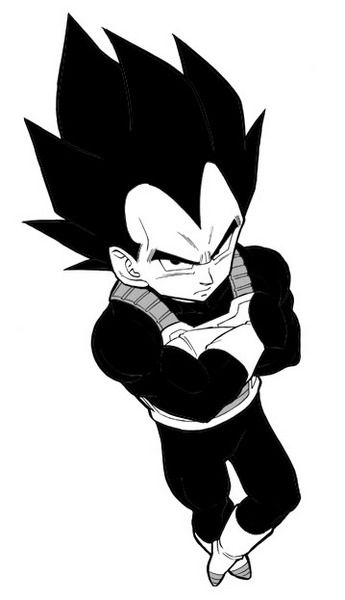 Cartoon Characters Dragon Ball Z : If i was a male fictional cartoon character would be