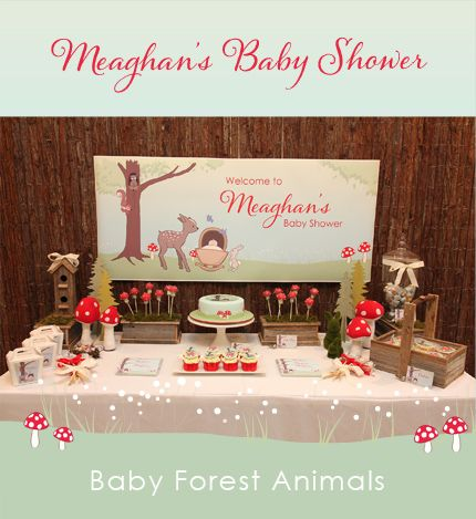 baby forest animals baby shower baby showers pinterest