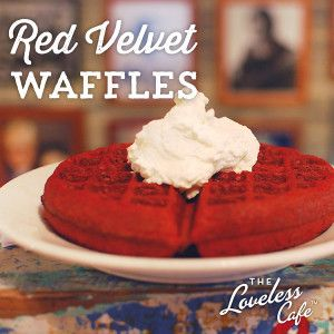 The easiest recipe for Red Velvet Waffles you'll find ~ so delicious!