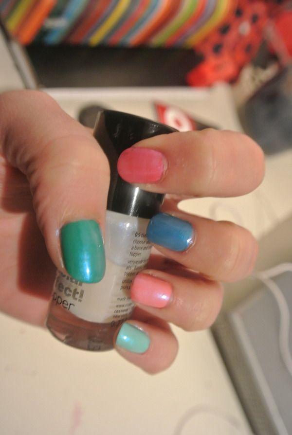 Multicolored Nacre/Pearl Effect