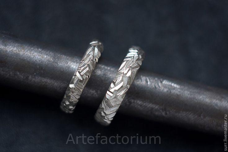 Купить Обручальные кольца из белого золота - белый, золото, белое золото, обручальные кольца, кольца