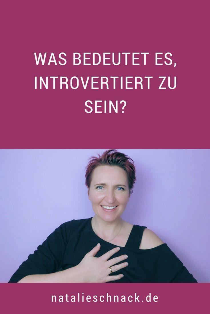 introvertiert sein