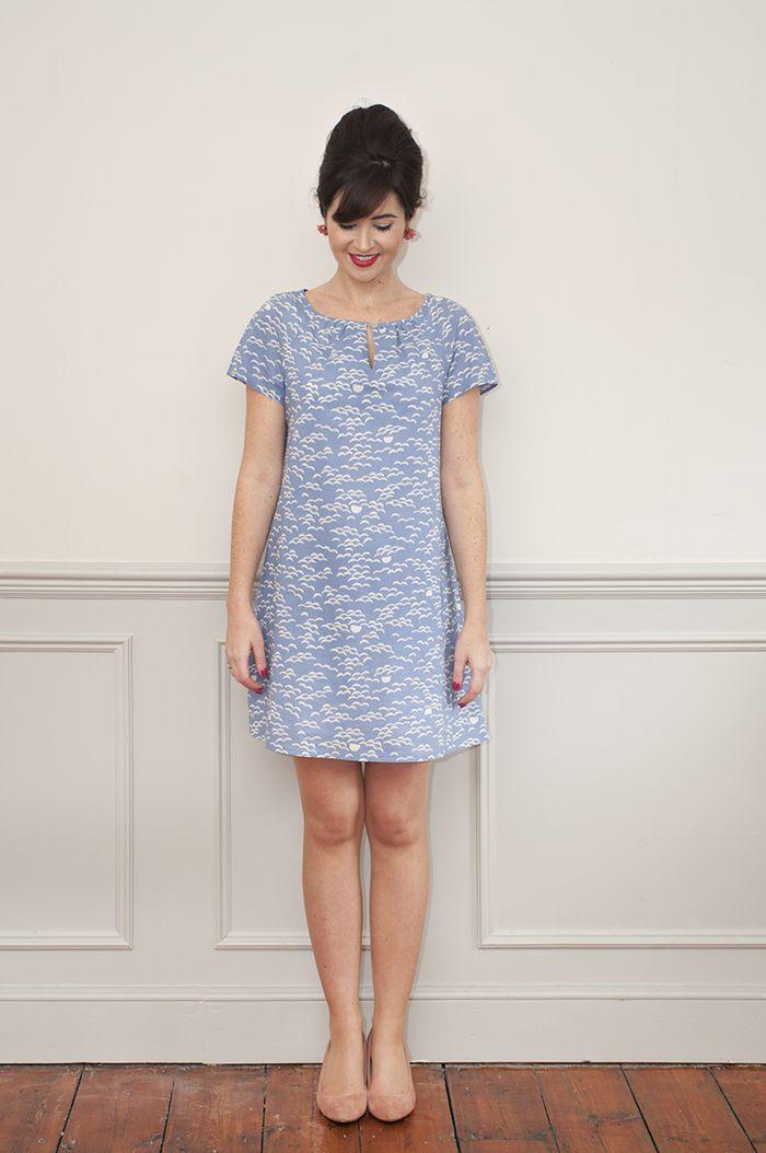 Sew Over It Lulu Dress sewing pattern : easy to wear A-line summer dress