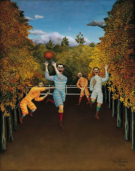 Rousseau, HenriThe Football Players