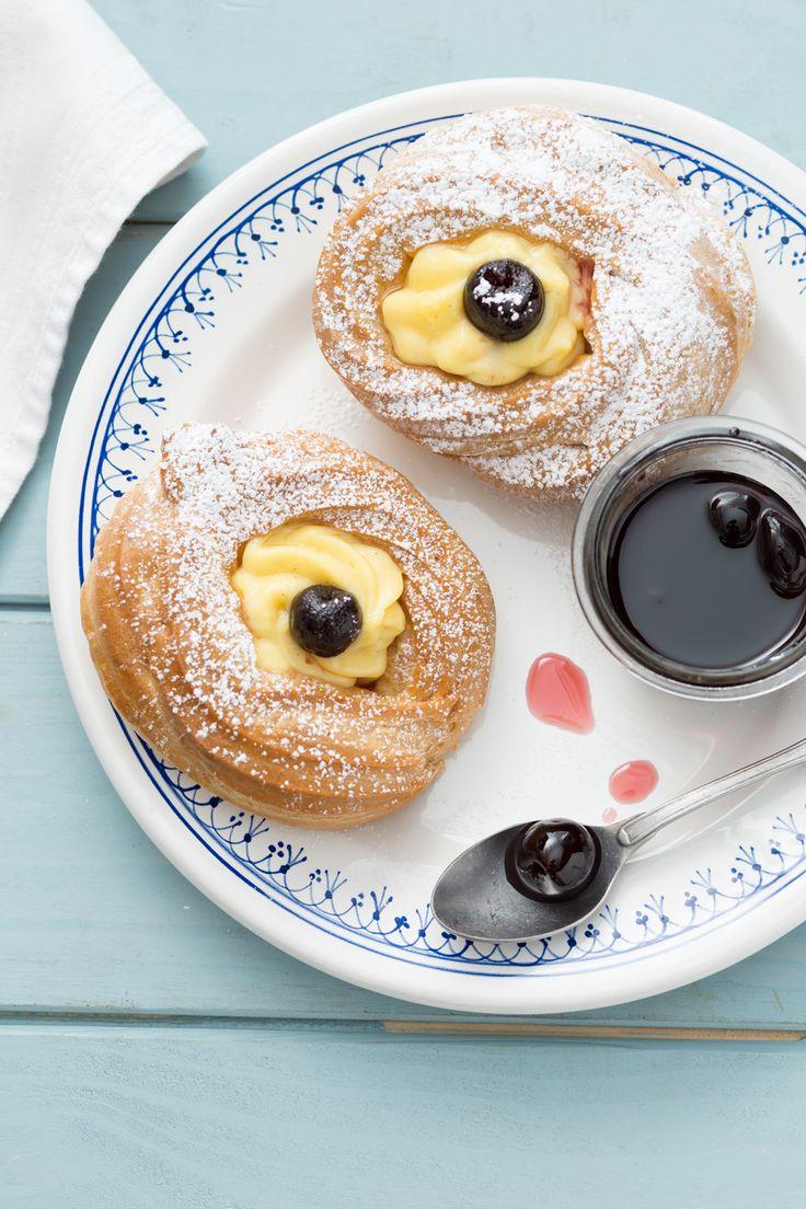 Zeppole di San Giuseppe al forno: scopri la versione light del classico dolce per la Festa del Papà! [Father's day baked pastry]