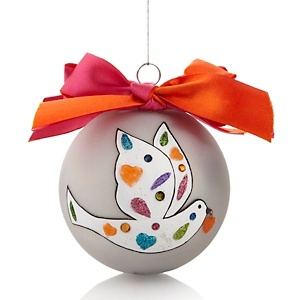 Limited Edition ornament designed by Nicky Butler to benefit #StJude #HSN