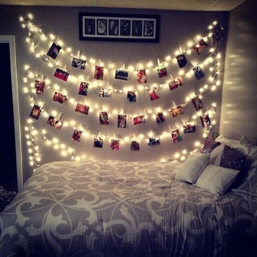 17 best ideas about bedroom fairy lights on pinterest for Bedroom designs tumblr