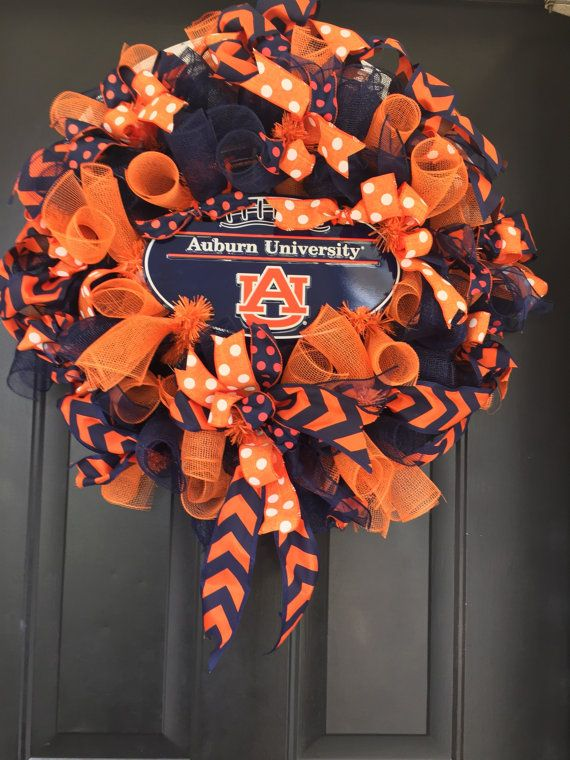 College Wreath, Auburn University, Collegiate Wreath,