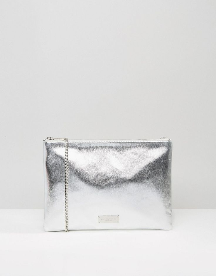 CARVELA BY KURT GEIGER Metallic Clutch Bag - £38.00