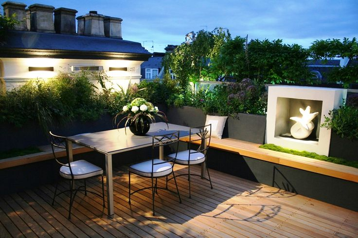 terrace design ideas impressive with photos of terrace design concept new at gallery jardin et terrasse pinterest jardins - Amenagement Terrasse En Hauteur