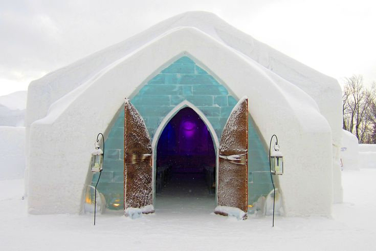 OROGOLD presents Hotel de Glace, one of the most unique hotels on the planet.