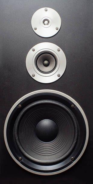 isolated music speaker high quality loudspeaker