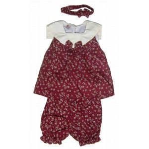Toddler Dress Set with Pants and Headband