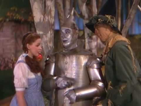 start from 1min 50 secs in ▶ The Wizard of Oz (1939) - Tin Man's Dance - YouTube