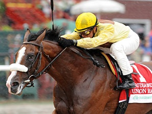 Union Rags, the Fountain of Youth (G2) winner has four wins in five starts.: Hors Racing, Union Rag, Favorite Racehor, Rag Racehor, Favorite Hors, Derby Off, Obsession Hors, Horses Racing, Racing Hors