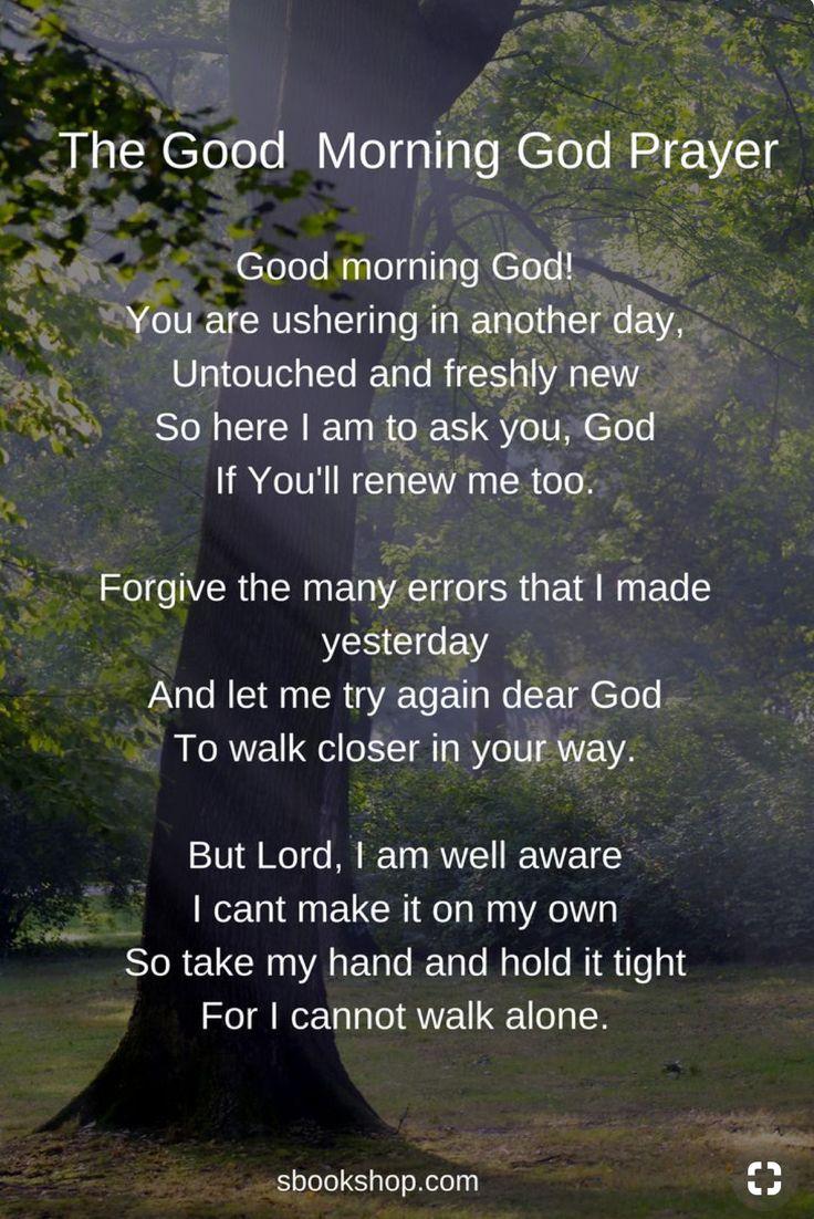 The Good Morning Prayer