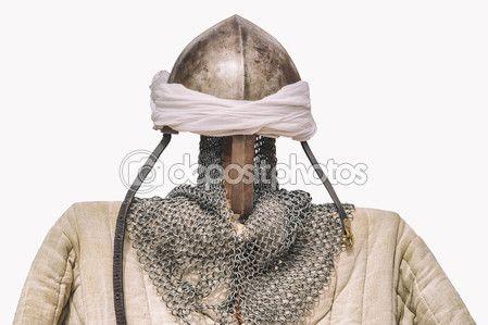 Reconquest moorish warriors armour suit — Stock Image #125017914