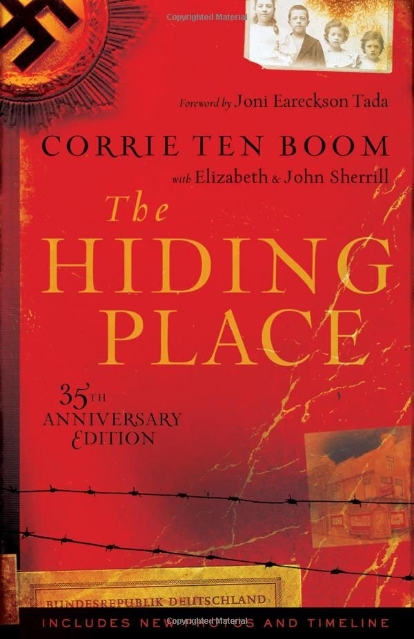 The Hiding Place by Corrie ten Boom. One of the best books I've ever read...definitely in my top 10. God's hand in the life of Corrie, her family, and their mission was so supernatural.  Definitely a must read.