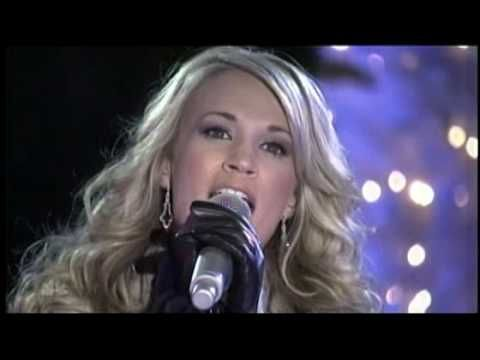 "Carrie's countrified version of ""Do You Hear What I Hear?"" aired on NBC's 75th Annual Rockefeller Center Christmas Tree Lighting tonight"