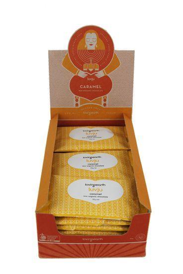 Caramel Luvju - Raw Organic Chocolate