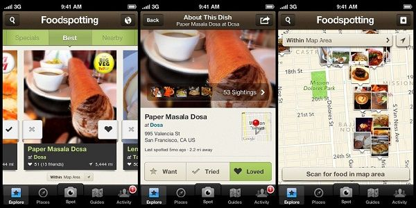 #APPS PARA #FOODIES